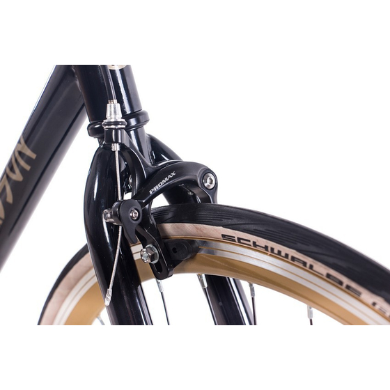 28 Fixie Singlespeed CHRISSON FG FLAT 1.0 Flip-Flop-Nabe gold