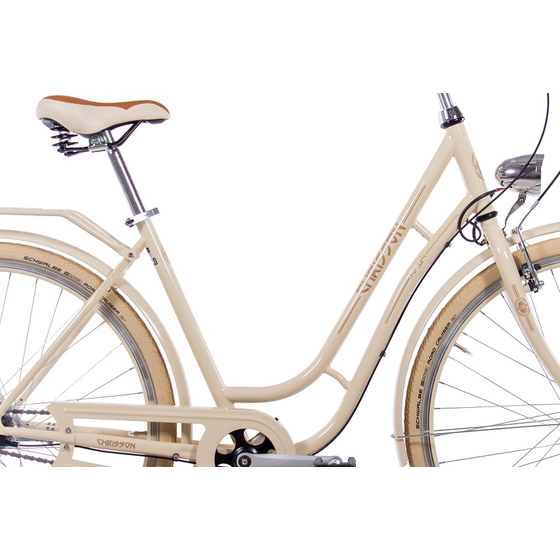 28 Cityrad Damenrad CHRISSON N LADY 7 Gang Shimano Nexus creme