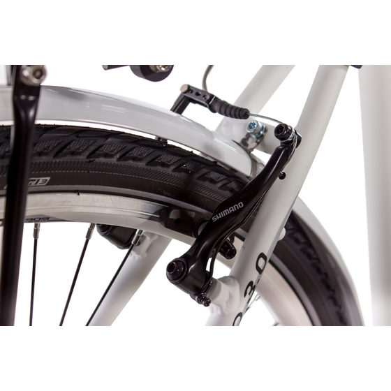 28 Cityrad Damenrad CHRISSON SERETO 3.0 7 Gang Shimano Nexus weiss matt