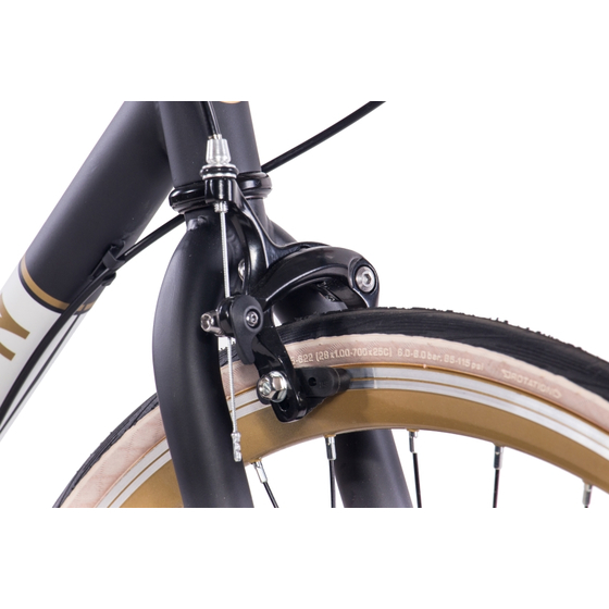 28 Urbanbike CHRISSON VINTAGE ROAD 3 Gang Shimano Nexus schwarz matt