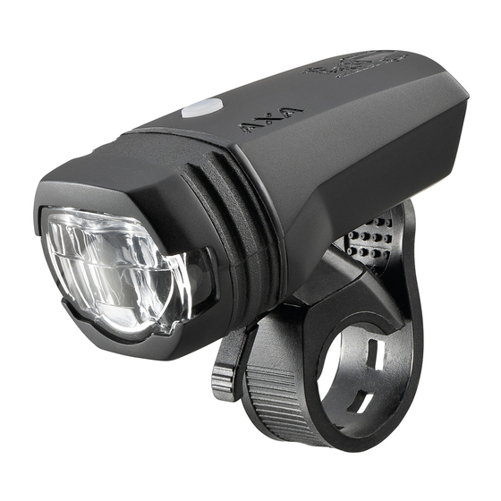 AXA GREENLINE 50 LED-Frontleuchte USB 50 LUX